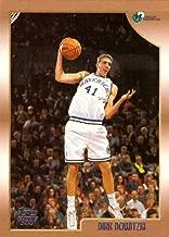 1998 / 99 Topps Basketball #154 Dirk Nowitzki Rookie Card