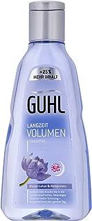 GUHL Shampoo Long Lasting Volume (Blue Lotus & Rice Protein) 200ml 6.8oz