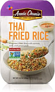 Annie Chun's Thai Fried Rice, 9.0-Oz (Pack Of 6), Instant Meal, Microwaveable