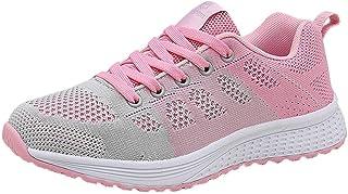 Zapatillas de Deporte Respirable para Correr Deportes Zapatos Running Cojines de Aire Calzado Mecedora Net para Estudiante...