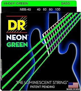 DR Strings HI-DEF NEON Bass Guitar Strings (NGB-40)