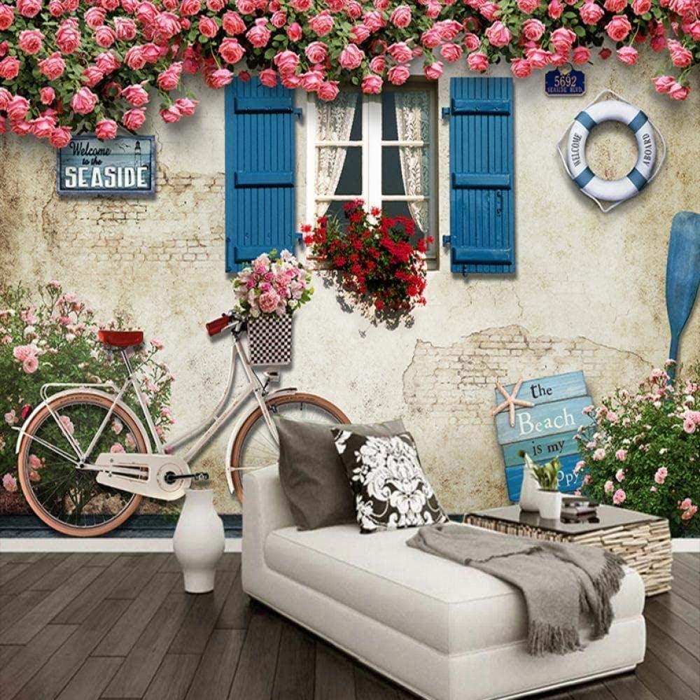 Custom low-pricing Mural Wallpaper Kansas City Mall Mediterranean Style Photograp Building 3D