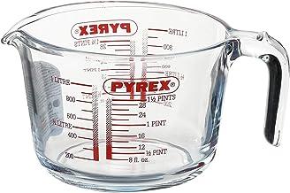 كوب قياس زجاجي 1 لتر من بايركس، 2724678769684