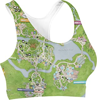 Rainbow Rules Animal Kingdom Map Sports Bra