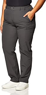 MIER Women's Quick Dry Cargo Pants Lightweight Tactical Hiking Pants with 6 Pockets, Stretchy and Water Resistant