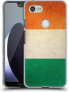 Head Case Designs Ireland Irish Vintage Flags Soft Gel Case Compatible for Google Pixel 3 XL