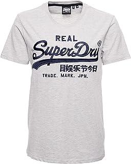 Superdry Men's Vl Mono Emb Tee Casual Shirt