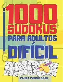1000 Sudokus Para Adultos Dificil: El Libro Rompecabezas Para Adultos - Juegos De Lógica Para Adultos