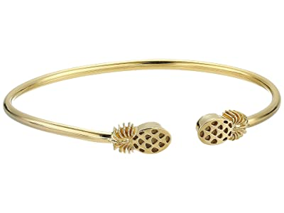 Alex and Ani Pineapple Cuff Bracelet (14KT Gold Plated) Bracelet