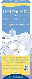 Natracare Organic Maternity Pads 10 Pads (Pack of 4)