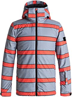 Quiksilver Boys Mission Print Jacket