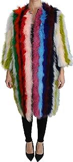 Dolce & Gabbana Mujer Turquía Capa Abrigo de Piel Multicolor JKT2511