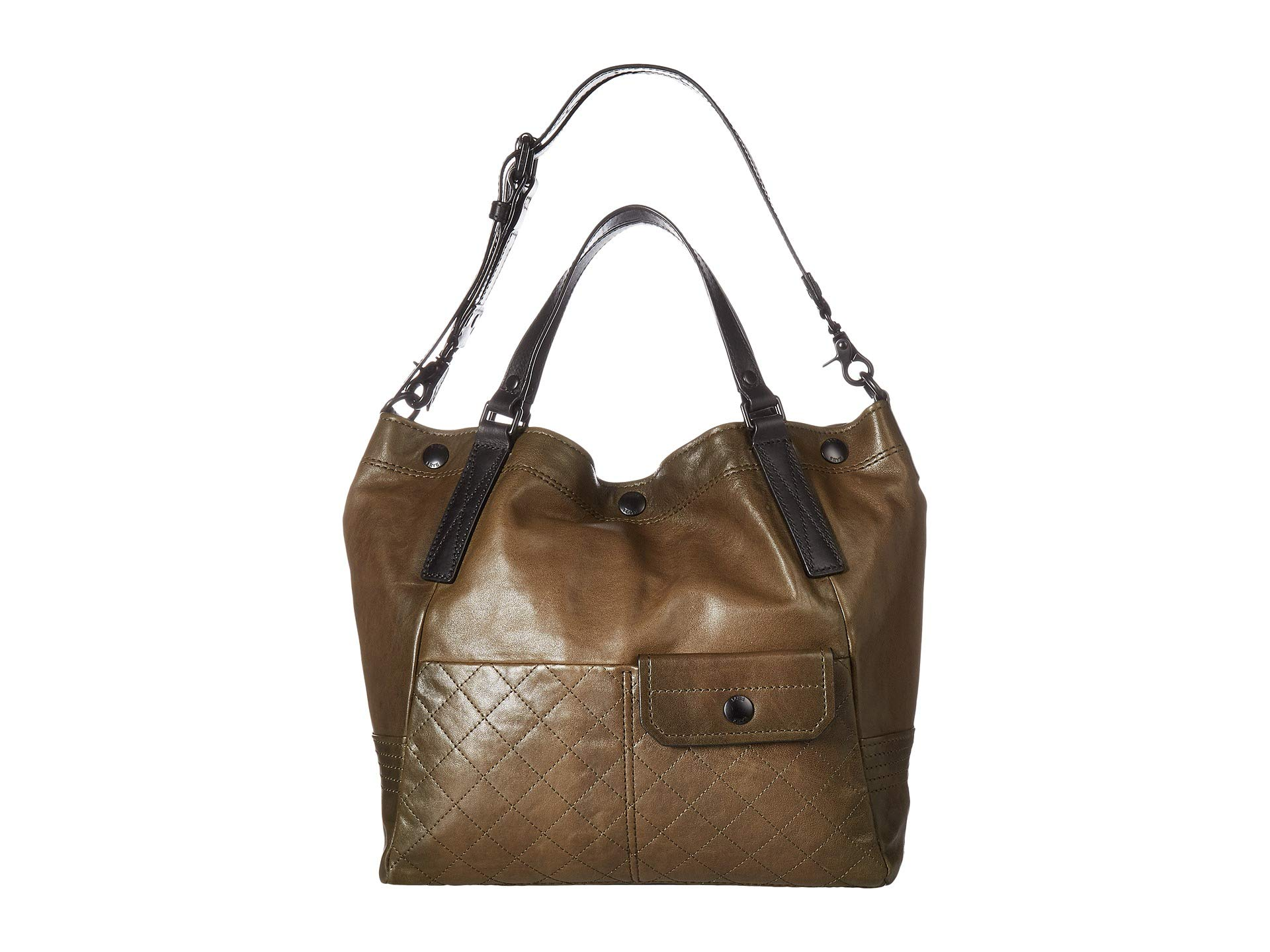 Frye Fatigue Samantha Quilted Soft Lambskin Shoulder 11wrxR