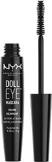 NYX Professional Makeup Doll Eye Mascara, Extreme Black,  Volume,  DE02, 0.28 oz