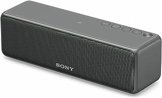 ソニー ワイヤレスポータブルスピーカー SRS-HG10 : Bluetooth/Wi-Fi/LDAC/ハイレゾ/専用スマホアプリ対応 2018年モデル / マイク付き/  グレイッシュブラック SRS-HG10 B