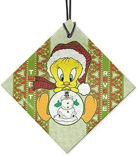 Looney Tunes Tweety Bird Pattern Starfire Prints Hanging Glass
