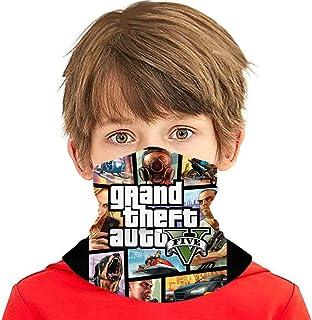 Popular Game Kids Neck Gaiter Face Cover Boys Girls Bandanas Mouth Cloth Cover Balaclavs Tube Headbands