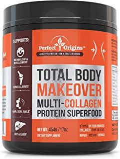 Perfect Origins TBM Natural Collagen - Anti Aging, Keto Diet, Energy Boosting Supplement