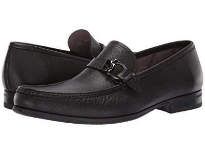 Salvatore Ferragamo Adam Loafer (Black) Men