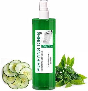 Grönt te Oljig hud Anti-fläckar Rensande ansiktsvatten 500 ml Mist - Alkoholfri toniclotion