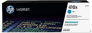 HP CF411X 410X Cartucho de Tóner Original de alto rendimiento, 1 unidad, cian