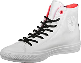 Chuck Taylor All Star II Shield Canvas Hi White/Lava/Gum Lace up casual Shoes