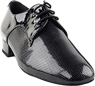 "Men Ballroom Dance Shoes Standard & Smooth Tango Wedding Salsa Shoe CD9416EB -Very Fine 1"" [Bundle of 5]"