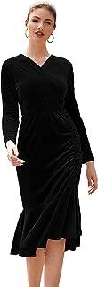 Best high neck velvet dress Reviews