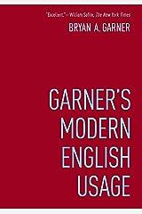 Garner's Modern English Usage Kindle Edition