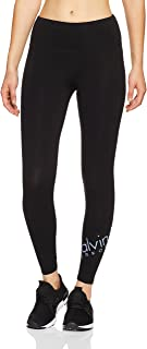 Calvin Klein Women's High Waisted Fitness Compression Pant with Logo 7/8 Tight