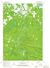YellowMaps Odanah WI topo map, 1:24000 Scale, 7.5 X 7.5 Minute, Historical, 1964, Updated 1965, 27.31 x 22.58 in