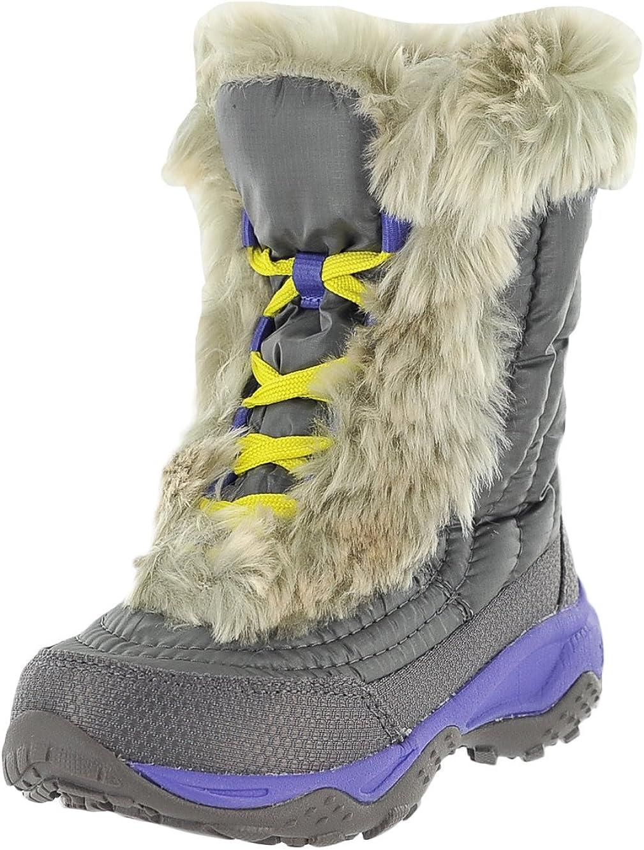 The North Face Girl's Nuptse II Faux Fur Boots (5 Big Kid M)