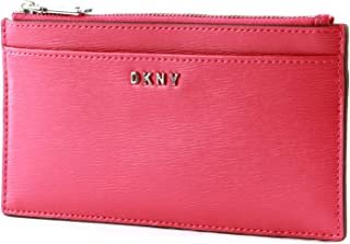 DKNY Womens Luxury Handbag Fashion Wristlets Wallet, Color Pink