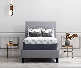 Ashley Furniture Signature Design - 12 Inch Chime Elite Mattress - Twin Size - White & Blue