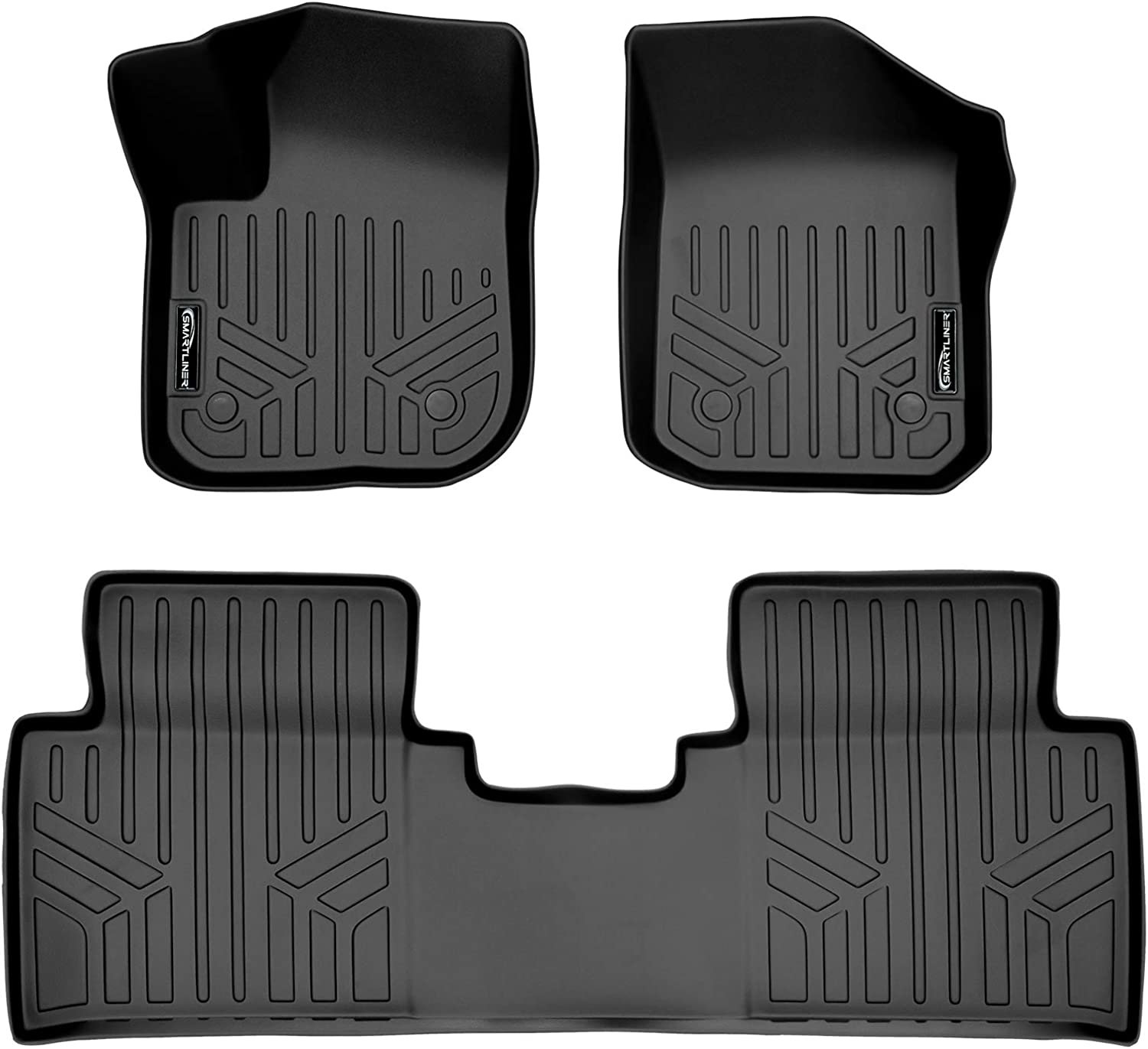 MAXLINER Year-end annual account Floor Mats 2 Row Quantity limited Liner 2016-2020 for Buick En Black Set