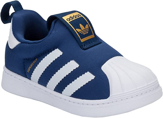 Baskets adidas Originals Superstar 360 pour bébé garçon - Bleu ...
