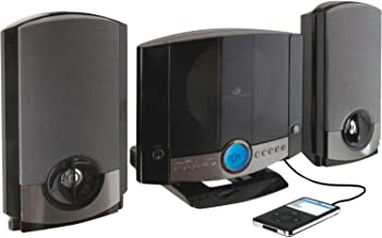 GPX HM3817DTBK Home Music System with Remote and AM/FM Radio