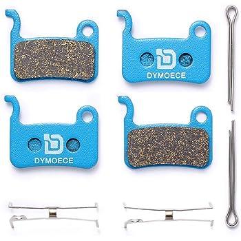 4 Pairs Resin Brake Pads Bicycle Disc Brake Pads Compatible with Shimano Deore XT XTR LX SLX Hone Alfine Saint Disc Brake
