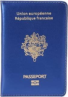 Prot/ège-passeport/avec drapeau fran/çais ST-T2351