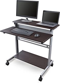 stand up adjustable desk