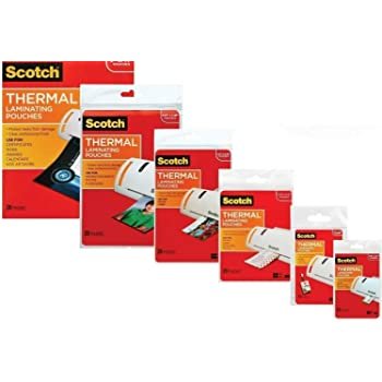3M Laminating Pouch Kit With All varieties of Laminating Pouches (1)
