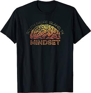 South Padre Island TX Vacation Mindset T-shirt