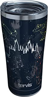 Tervis Harry Potter - Marauder's Constellation Stainless Steel Insulated Tumbler with Clear and Black Hammer Lid, 20oz, Si...
