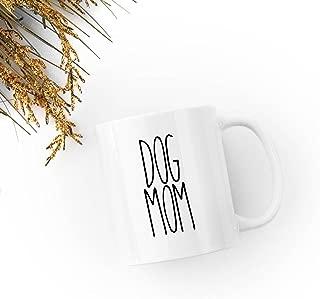 Rae Dunn Inspired Ceramic DOG MOM Mug | Perfect for Coffee, Tea, Hot Chocolate
