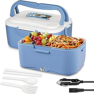AUTOPkio Boîte à Lunch électrique de Camion, Lunchbox Electric 24V 35W Food Warmer Lunch Box for Truck Driver 1.5L Portabl...