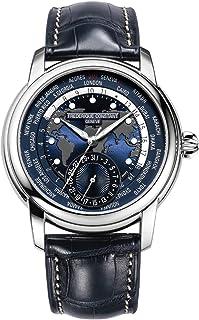 Frederique Constant - Reloj Analógico para Hombre de Automático con Correa en Cuero FC718NWM4H6