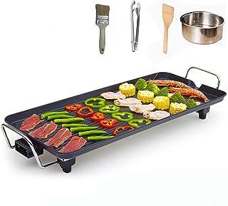 Korean Style BBQ Poke Hot Pot Multi - Functional Electric Grill Barbecue Stove Household Non-Stick Square Electric Non-Smo...