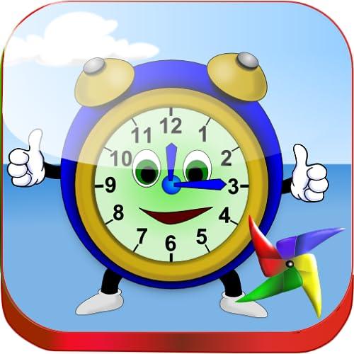 Learn Clock for kids - http://medicalbooks.filipinodoctors.org