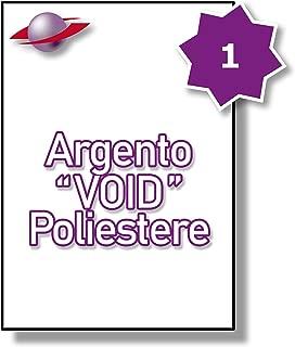 Label Planet/® Etichette KRAFT su Carta Marrone A4 per Stampanti a Getto dInchiostro e Laser 38,1 x 21,2 mm 65 Par Foglio 325 Etichette 5 Fogli LP65//38 BRK.