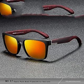 41e98a3f8b Gafas De Sol Polarizadas Gafas De Sol Cuadradas.Designer Hombres O Mujeres  Pintura Elástica Marco